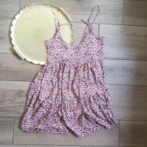 Audrey 3+1 floral mini dress boho M